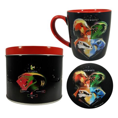 Набор кружка и подставка Harry Potter (Crests - Magical) Mug & Coaster In Tin 370ml GP85471