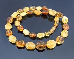бусы из калининградского янтаря