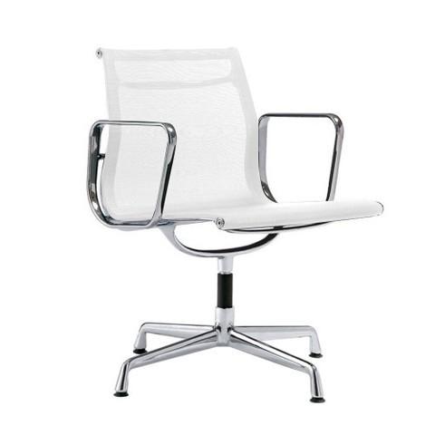Кресло Eames Style Netweave Conference Chair EA 108 белая сетка