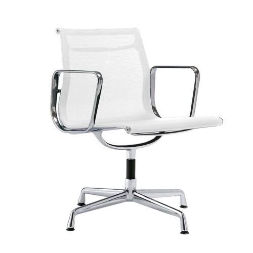 Кресло Eames Style Netweave Conference Chair EA 108 белая сетка - вид 1
