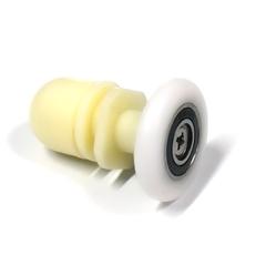 Ролик для душевой кабины X-06-A 28 мм полиуретановый ролик с закрытым подшипником. Конструкция коретки позволяет без проблем заменит ролик.