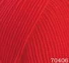 Пряжа Himalaya Everyday Bebe Lux 70406 (красный)