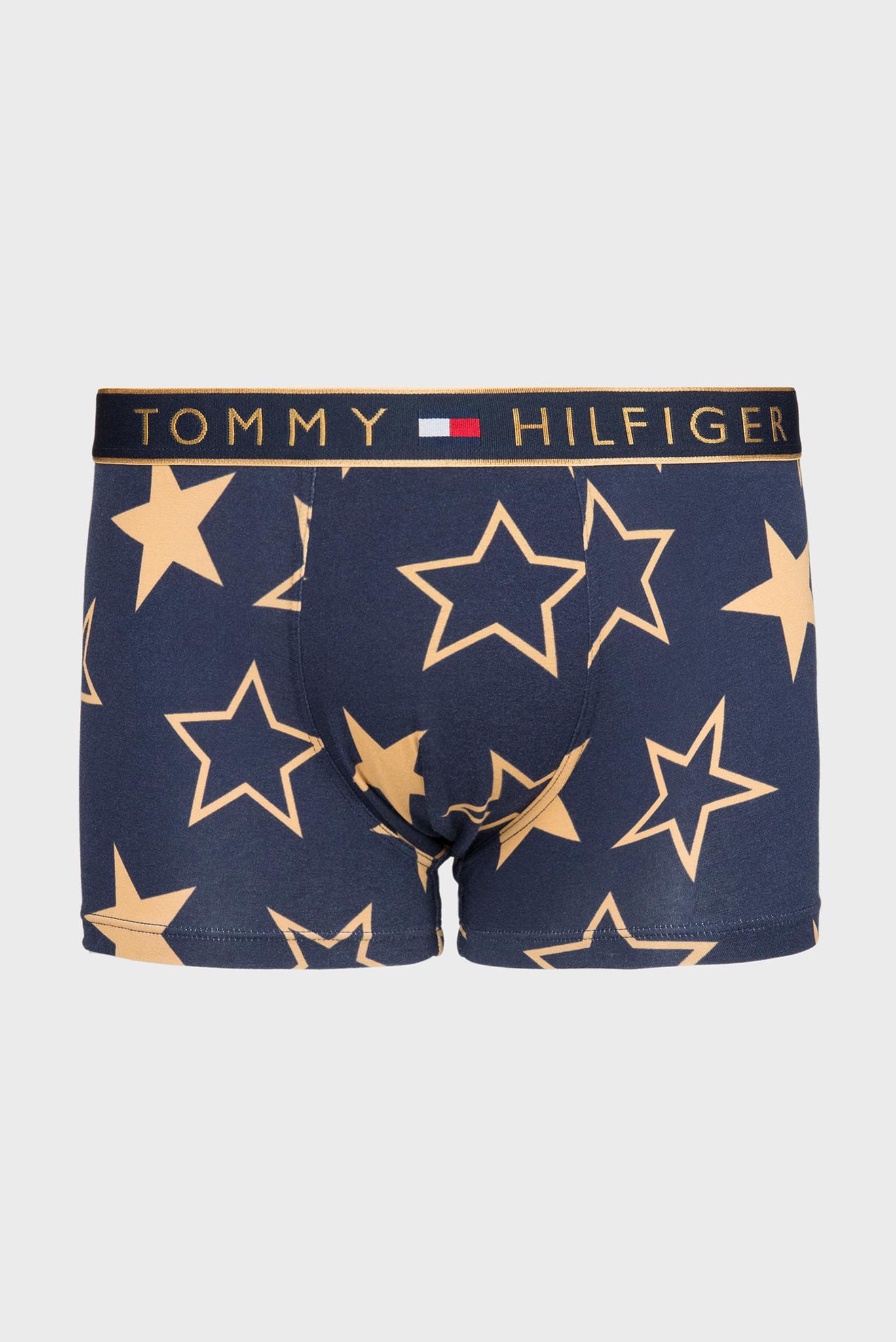 Мужские синие боксерыTRUNK GOLDEN STARS Tommy Hilfiger