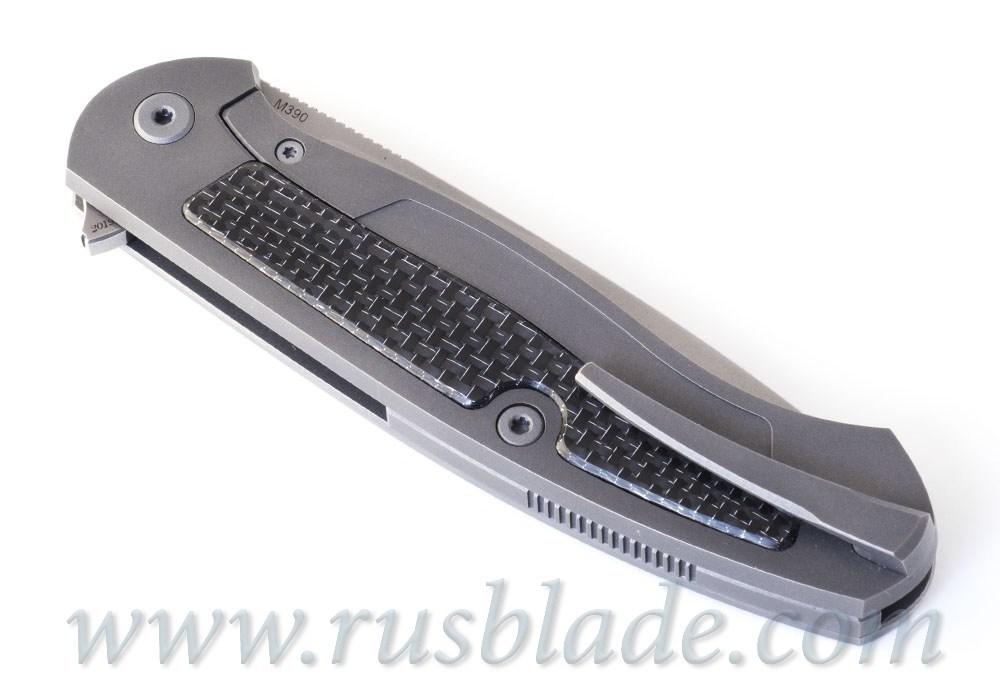 Cheburkov Scout M390 CF Silver Twill - фотография