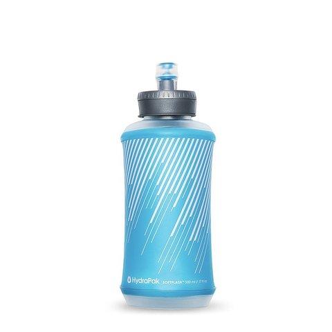 Мягкая бутылка для воды  HydraPak Softflask (0,5 литра), голубая
