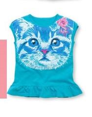 GTR377 футболка для девочек