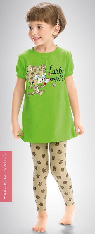 GNML341 пижама для девочек