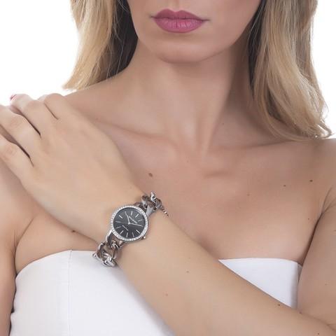 Часы LadyB Silver Black LB002 BW/S