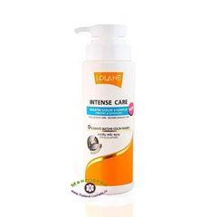 Шампунь для поврежденных волос с кератином Intense Care Keratin Serum., Lolane