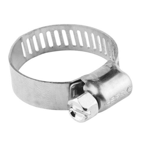 Хомуты, нерж. сталь, просечная лента 12.7 мм, 38-59 мм, 100 шт, ЗУБР Профессионал