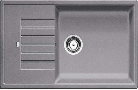 Кухонная мойка Blanco ZIA XL 6S Compact, алюметаллик