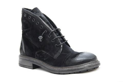 Велюровые ботинки Fruit 4841 темно-серые