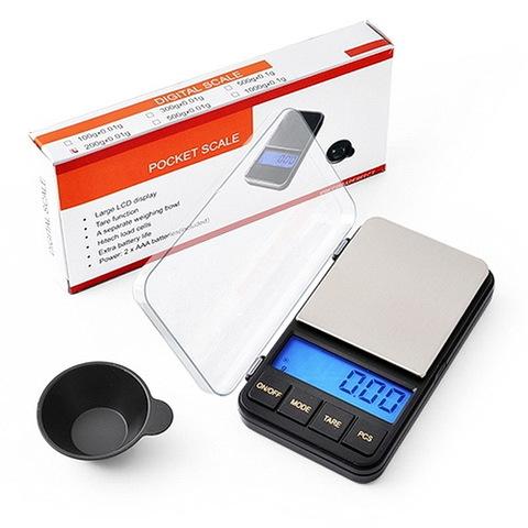Весы ювелирные 6285PA, 200г. (0,01г) + чаша