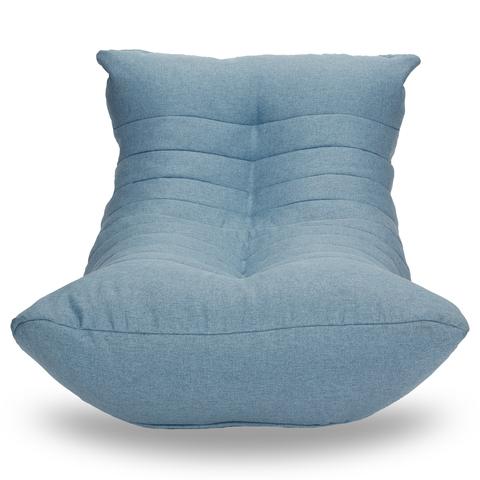 Бескаркасный лежак «Кокон», Небесно-голубой