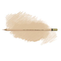 Карандаш художественный акварельный MONDELUZ, цвет 350 телесный персиковый