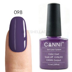 Canni, Гель-лак № 098, 7,3 мл