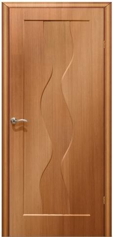 Дверь Сибирь Профиль Водопад, цвет миланский орех, глухая