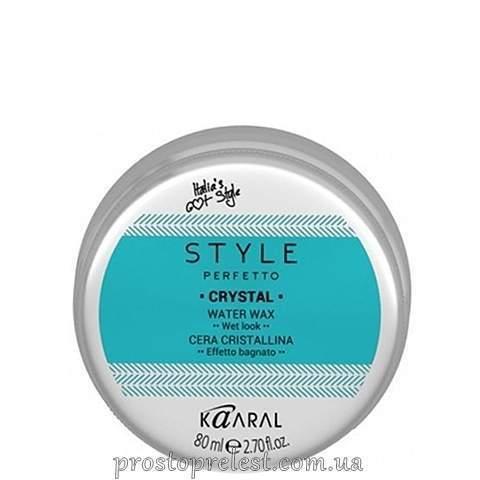 Kaaral Style Perfetto Crystal Water Wax - Віск для волосся на водній основі
