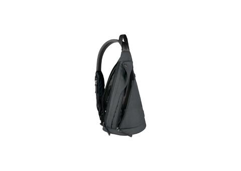 Рюкзак Victorinox Monosling, с одним плечевым ремнём, чёрный, 23x14x41 см, 13 л