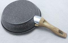 Сковорода с антипригарным покрытием non-stick под мрамор