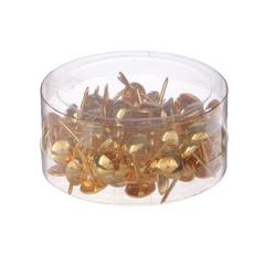 Гвоздики декоративные, набор 100 шт, 1,3*0,9*0,9 см.