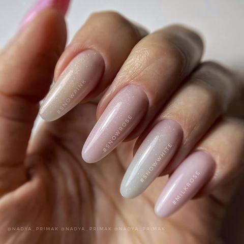 Акригель LUSSO snow pink 30мл