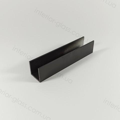 Швеллер (профиль) 20x20 мм, L=3 м ST-507 BLK чёрный матовый