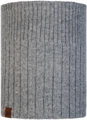 Вязаный шарф-труба с флисом Buff Neckwarmer Knitted Polar Kort Light Grey