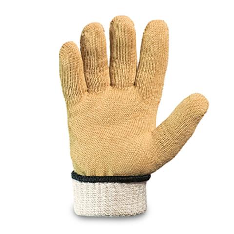 Трикотажные перчатки из пара-арамидной нити «Кевлар» от порезов плотные (Россия)