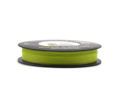 Плетеная леска Spiderwire Dura4 Braid Ярко-желтая 150 м. 0,10 мм. 9,1 кг. Yel