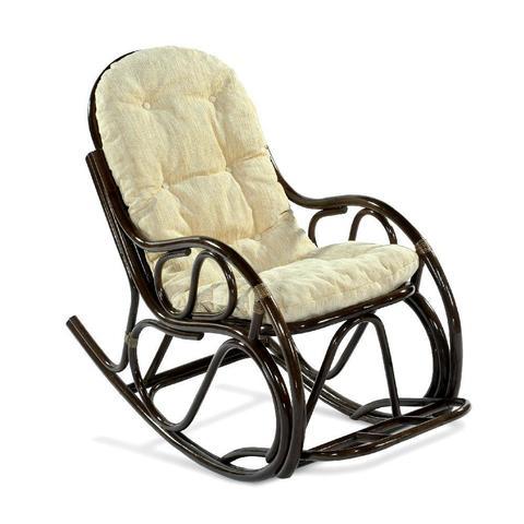 Кресло-качалка с подножкой, 05/17 Б (подушка шенилл)