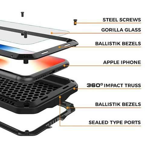 Защитный Чехол для iPhone 11 Pro Max - Lunatik Taktik Extreme