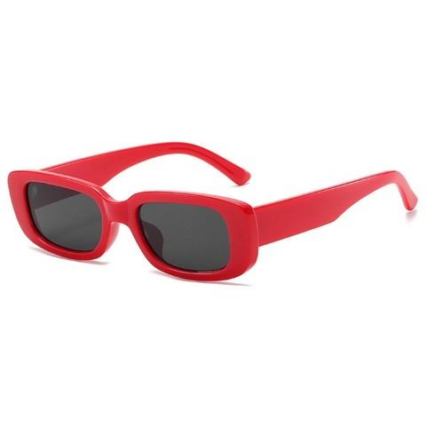 Солнцезащитные очки 9074002s Черный с красной оправой