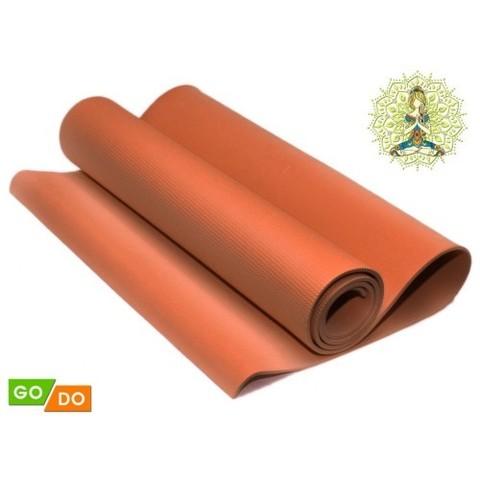 Коврик гимнастический. КВ6106 (Оранжевый) (38531)