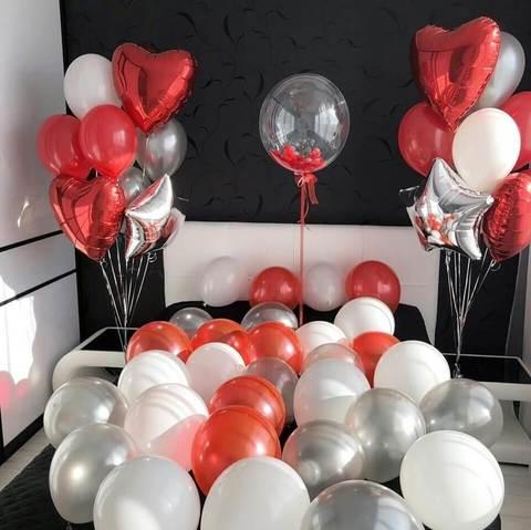 Сет воздушных шаров Влюбленным