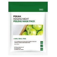 PEKAH Вечерняя восстанавливающая отшелушивающая маска Healing Night Peeling Mask Pack, 25ml