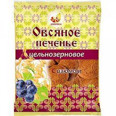 Печенье овсяное цельнозерновое, Дивинка, с изюмом, 300 г