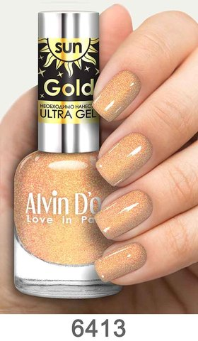 Alvin D`or Лак д/ногтей SUN GOLD тон 6413