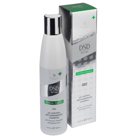 DSD de Luxe  PH контроль Антисеборейный шампунь 002 pH Control Antiseborrheic Shampoo