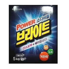 Стиральный порошок Mukunghwa Bright Powder Detergent Белизна и Яркость с пузырьками кислорода и содой 5 кг