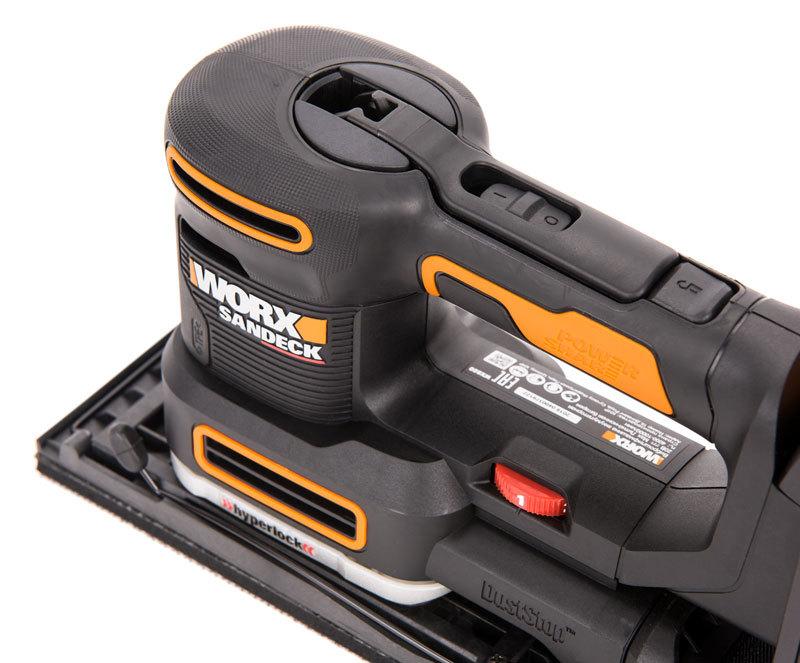 Виброшлифмашина аккумуляторная WORX WX820 20В