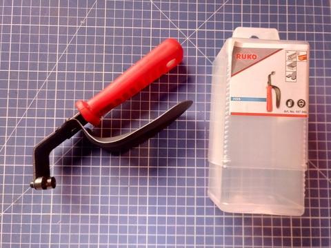 Фаскосниматель двойной с дисковыми лезвиями Ruko 107060 (В)