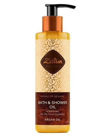 "Масло для душа и ванны ""Ритуал восстановления"" | 200 мл | Zeitun"