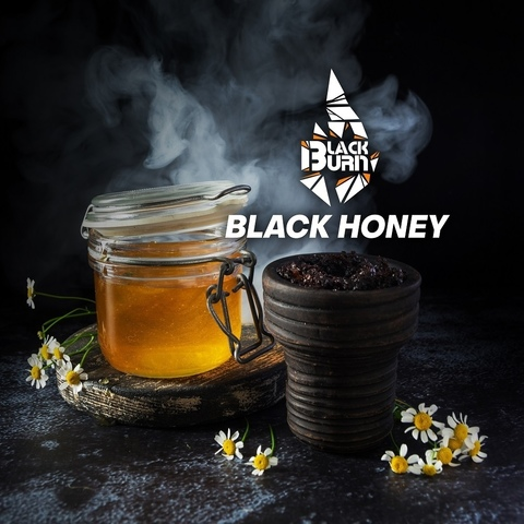 Табак Burn Black Black Honey (Мёд цветы) 100 г