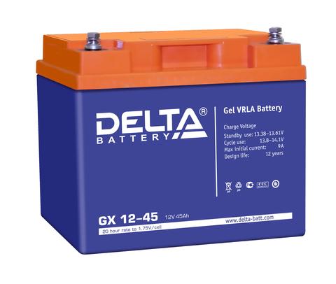 Аккумулятор тяговый DELTA GX 12-45 Xpert