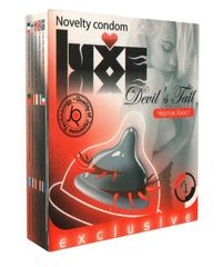 Презерватив LUXE  Exclusive  Чертов хвост  - 1 шт.