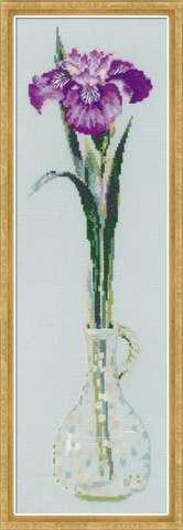 Набор для вышивания крестом «Король цветов» (1374)