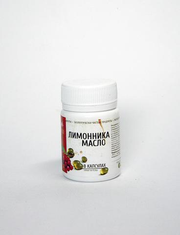 Масло Лимонника в капсулах, 60шт (Медлинфарм)