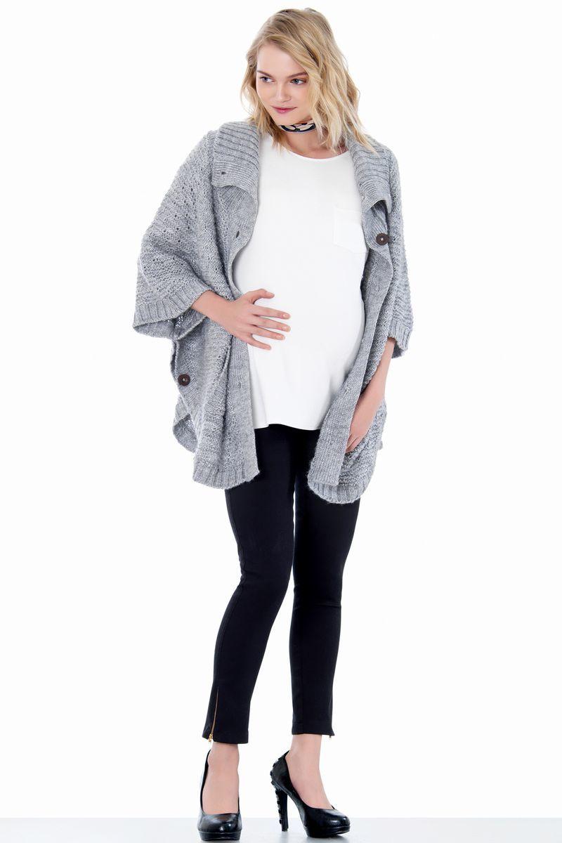 Кардиган для беременных 05054 серый