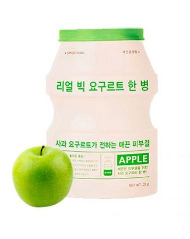 Йогуртовая маска A'Pieu для питания и восстановления кожи лица с экстрактом яблока 23 гр